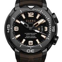 Clerc Hydroscaph H1 Chronometer Steel 48mm Black