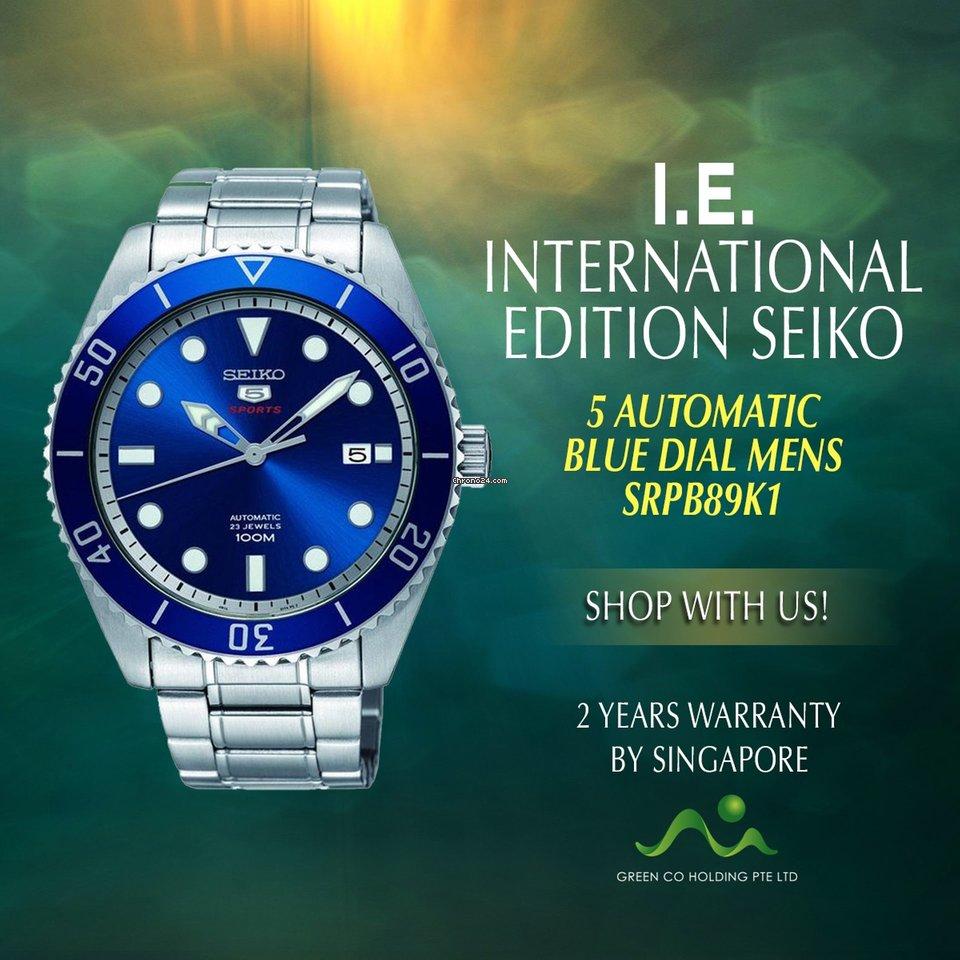 fa79b26387c Seiko 5 Sports - all prices for Seiko 5 Sports watches on Chrono24