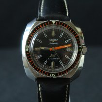 Longines Steel 41mm Automatic Longines Diver Ultrachron 7970 pre-owned