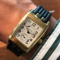 Jaeger-LeCoultre Or jaune Remontage manuel Blanc 28mm occasion Reverso (submodel)