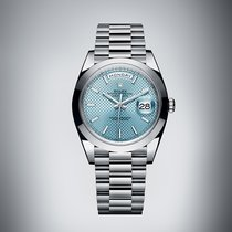 Rolex Day-Date 40 Platinum Blue United States of America, New York, New York
