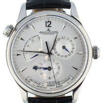 Jaeger-LeCoultre pre-owned Automatic 439mm Silver Sapphire Glass 3 ATM