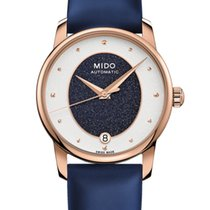 Mido Steel 33mm Automatic M035.207.37.491.00 new