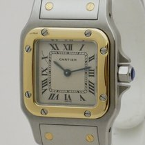 Cartier Santos Galbée Gold/Steel 23mm