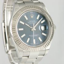 Rolex Datejust II Stål 41mm Blå