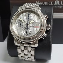 Maurice Lacroix Masterpiece Steel 42mm Silver Arabic numerals United States of America, California, Los Angeles