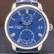Glashütte Original Manual winding Blue Roman numerals 42mm pre-owned Senator Chronometer