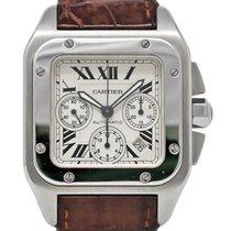 Cartier Santos 100 Steel 42mm White United States of America, Florida, 33132