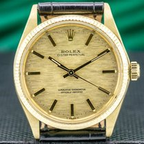 Rolex Oyster Perpetual 34 Yellow gold 34mm Gold United States of America, Massachusetts, Boston