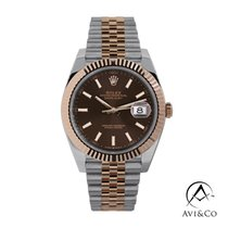 Rolex Datejust II Steel 41mm Brown No numerals United States of America, New York, New York