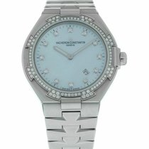 Vacheron Constantin Overseas Steel 34mm Mother of pearl United States of America, Florida, Sarasota