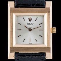 Rolex 18k R/G Rectangular Case Cellini Vintage Gents 4578