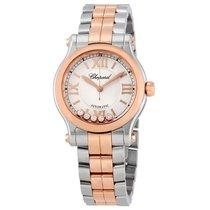 Chopard Ladies 278573-6002  Happy Sport Rose Watch