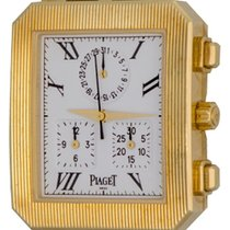 Piaget Protocole Yellow gold 28mm White Roman numerals United States of America, Texas, Dallas