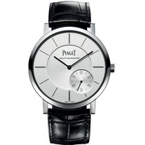 727a1c28276 Piaget 40mm Corda manual 2017 usado Altiplano Prata