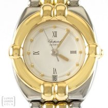 Chopard Gstaad Goud/Staal 24mm Wit