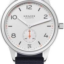 NOMOS Club Automat Datum Steel 41.5mm White United States of America, New York, Airmont