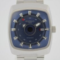 Zodiac 46mm Automatik 2007 neu Astrographic Braun