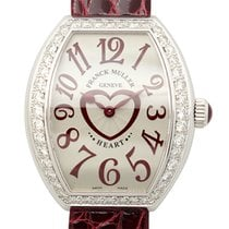 Franck Muller Heart Stainless Steel With Diamonds Silver...