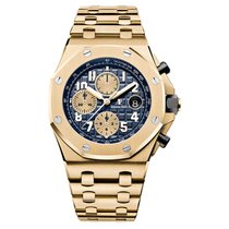 Audemars Piguet 26470BA.OO.1000BA.01 Yellow gold Royal Oak Offshore Chronograph 42mm