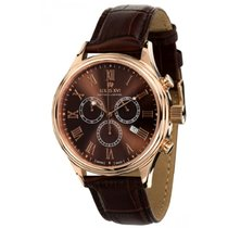 Louis XVI Chronograph 44mm Quartz new Brown