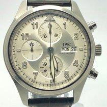 IWC Pilot Chronograph fliegeruhr box papers 42 mm