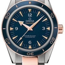 Omega Seamaster 300 Titanium 41mm Blue Arabic numerals United States of America, Iowa