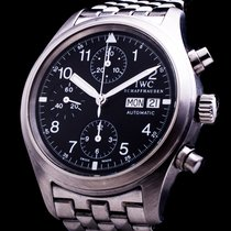 IWC Fliegeruhr Chronograph Day Date Automatic Klassiker TOP