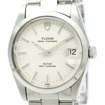チュードル Prince Oyster Date Automatic Stainless Steel Men's Dress...