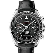 Omega Speedmaster Professional Moonwatch Moonphase Steel 44.25mm Black