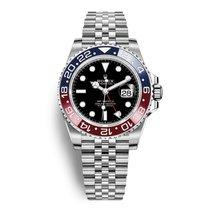 Rolex GMT-Master II Cadran Noir Lunette Pepsi Bracelet President