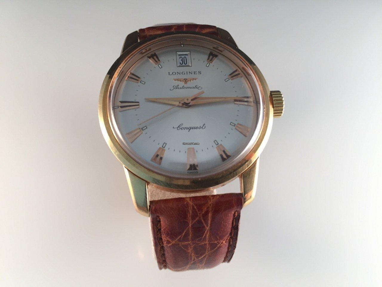 f7207806d63 Longines Conquest Ouro amarelo - Todos os preços de relógios Longines  Conquest Ouro amarelo na Chrono24