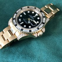 Rolex 116758SANR Yellow gold GMT-Master II 40mm
