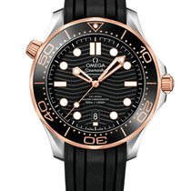 Omega 210.22.42.20.01.002 Goud/Staal Seamaster Diver 300 M 42mm