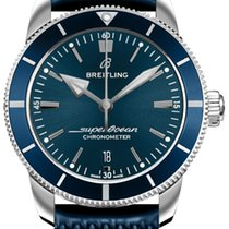 Breitling Superocean Héritage Steel 44mm Blue United States of America, Iowa, Des Moines