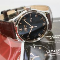 Union Glashütte Noramis Big Date Otel 40mm Negru