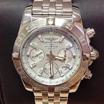 Breitling Chronomat 44 Steel 44mm Mother of pearl No numerals United Kingdom, Wilmslow