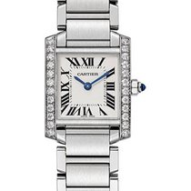 Cartier Tank Française Steel 25.2mm Silver Roman numerals United States of America, New York, New York