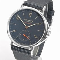 NOMOS Ahoi Neomatik Steel 36.3mm Blue