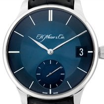 H.Moser & Cie. White gold 41.5mm Manual winding 2100-0202 new