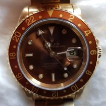 Rolex GMT-Master II Yellow gold 40mm Brown No numerals