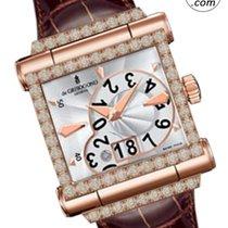 De Grisogono Instrumento Grande Rose gold 41mm Silver Arabic numerals