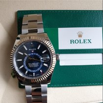 Rolex Sky-Dweller Steel 42mm Blue No numerals United States of America, New Jersey, Oakhurst