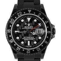 Ρολεξ (Rolex) Used 16710_pvd Oyster Perpetual GMT II - Black...