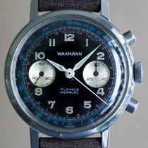 Wakmann Vintage Black Chronograph