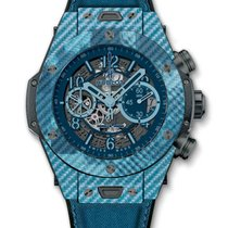 Hublot : 45mm Big Bang Unico Italia Independent Blue Camo...