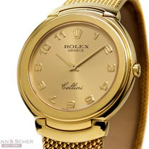 Rolex Cellini Gentlemans Watch Ref-6623 18k Yellow Gold Bj-1992