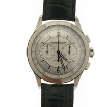 Jaeger-LeCoultre Master Chronograph Steel 40mm White No numerals