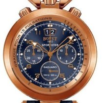 Bovet Sportster Saguaro Chronograph 18K Rose Gold Men's Watch