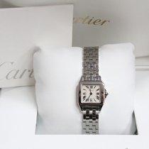 Cartier Santos Demoiselle 2698 Ladies Stainless Steel Box...